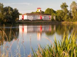 P'tit Dej-Hotel Bordeaux Lac (The Originals Hotel Access), hôtel à Bruges