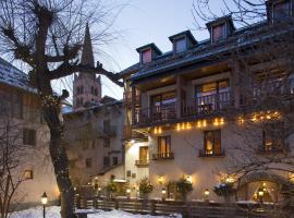 L'Auberge du Choucas, hôtel au Monêtier-les-Bains
