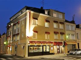 Logis Hotel Le Continental, hôtel à Châteauroux près de: Aéroport de Châteauroux - Centre - CHR