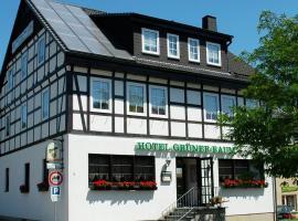 Hotel Grüner Baum, Hotel in der Nähe von: Erzgebirgsbad Thalheim, Stollberg/Erzgeb.