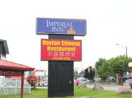 Imperial Inn 1000 Islands, hotel em Gananoque