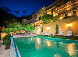 Villa Eden, hotel with jacuzzis in Positano