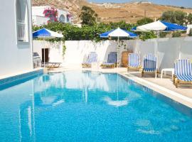 Glaros Hotel, hotel in Kamari