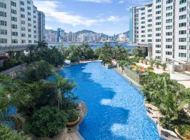 Kowloon Harbourfront Hotel, apartment in Hong Kong