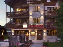 Apart-hotel Channa, hotel near Zum Berg, Saas-Almagell