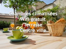 Citotel Hotel Cheval Blanc, hôtel à Cognac