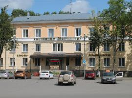 Гостиница Металлург, отель в Волхове