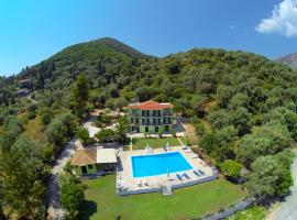 Vliho Bay Suites & Apartments, boutique hotel in Yenion