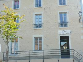 Hotel Le Saint Aubin, hotel in Chevillé