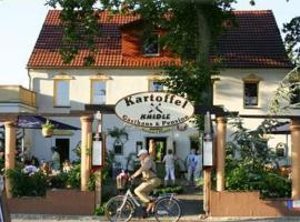 Kartoffelgasthaus & Pension Knidle, Hotel in Lübbenau