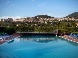 Hotel Bellavista, отель в Ассизи