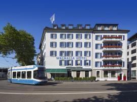 Walhalla Hotel, hotel in 1. Zurich Old Town - City Center, Zurich