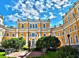Отель Усадьба Державина, отель в Санкт-Петербурге, рядом находится Никольский морской собор