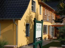 Pension Buchfink, guest house in Ueckeritz