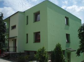 Vila Vodičkovi, apartment in Luhačovice