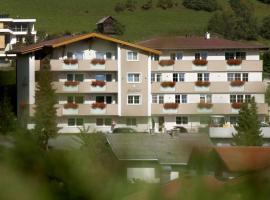 Apart-Pension Bergland, pet-friendly hotel in Ladis