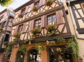 Gîte Au Coeur De Ribeauvillé, hotel near Château de Saint-Ulrich, Ribeauvillé