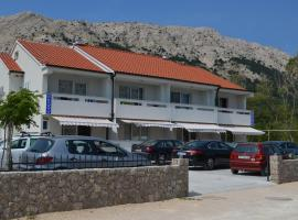 Apartments Mare, self catering accommodation in Baška