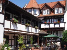 Landhotel & Restaurant Kains Hof, hotel i Uhlstädt