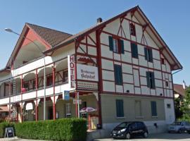 Hotel Restaurant Bahnhof, hôtel à Schüpfen près de: Congress Centre Biel
