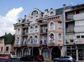 Vila Ile de France, inn in Novi Sad