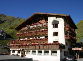 Hotel Edi, Hotel in Samnaun