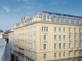 Steigenberger Hotel Herrenhof, hotel a Vienna, Centro di Vienna