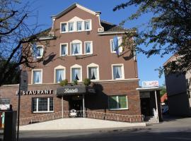 Bartels Stadt-Hotel, מלון בורל