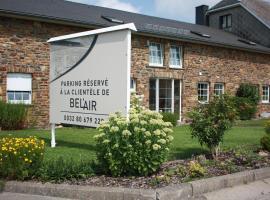 """Hôtel Belair """"Ravel Etape"""", hotel with pools in Waimes"""