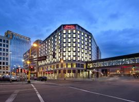 Hampton Inn & Suites - Minneapolis/Downtown, romantic hotel in Minneapolis