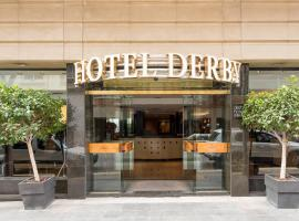 Hotel Derby, Hotel im Viertel Les Corts, Barcelona