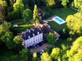 Château de Challanges, отель в Боне
