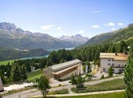 Berghotel Randolins, hotel in St. Moritz