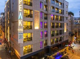 Taksim The Peak Hotel & SPA, hotel en Estambul
