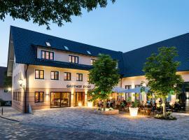 Die Post Hotel, hotel in zona Aeroporto di Memmingen - FMM, Bad Grönenbach