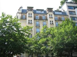 Hôtel Aiglon, hotel near Saint-Jacques Metro Station, Paris