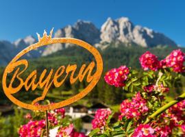 Bayern Resort Hotel (Adults only), hotel in Grainau