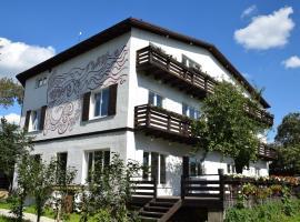 Znamenitiy Dom on Shchorsa, guest house in Mytishchi