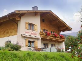 Landhaus Zehentner, Unterkunft zur Selbstverpflegung in Saalbach-Hinterglemm