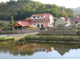 Hotel U Berounky, hotel poblíž významného místa Hrad Karlštejn, Srbsko