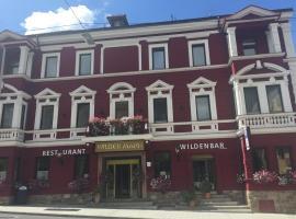 Hotel Wilder Mann, accommodation in Steinach am Brenner