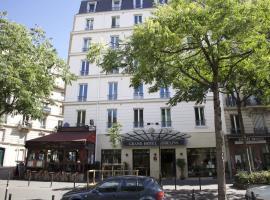 Grand Hôtel Des Gobelins, hotel near Maison Blanche Metro Station, Paris