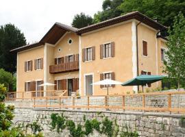 La Villa degli Orti, hôtel à Borgo