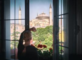Sura Hagia Sophia Hotel, hotel in Istanbul