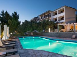 "Hotel Villa Natassa, hotel near Kavala International Airport """"Megas Alexandros"" - KVA, Skala Rachoniou"