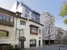 Hotel Cumbres Lastarria, отель в городе Сантьяго