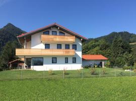 Wellness Ferienwohnung im Baronfeld, Hotel in der Nähe von: Hochplattenbahn, Marquartstein