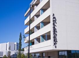 Apartment Hotel Aallonkoti, hotelli Helsingissä lähellä maamerkkiä Hakaniemen metroasema