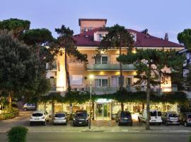 Hotel Mimosa, hotel v Lignanu Sabbiadoru