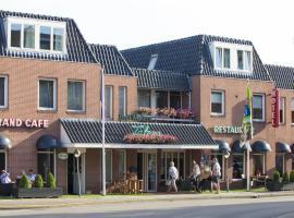 Hotel Restaurant Talens Coevorden, hotel dicht bij: Golf & Country Club Hooge Graven, Coevorden